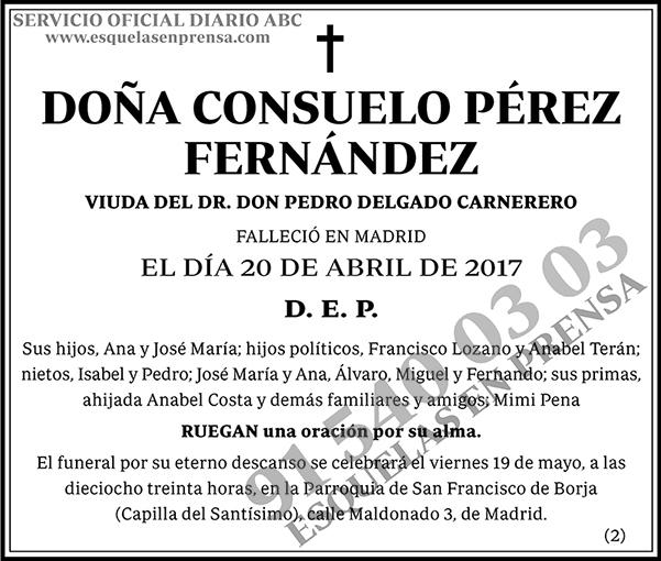 Consuelo Pérez Fernández